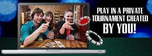 Create your own poker games  Play your friends on the NEW updated WSOP Online software.  In a few easy steps, you can create your own private poker tournaments and cash games. You decide the time, name, number of seats, stakes, buy-in and more- Free registrations available with us right now!   http://initto-winit.com/888-group/888-poker/