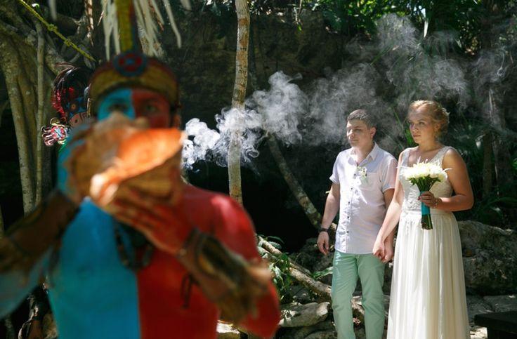 Original mayan shaman