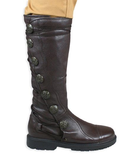 Sky Pirate Boot - Brown Leather