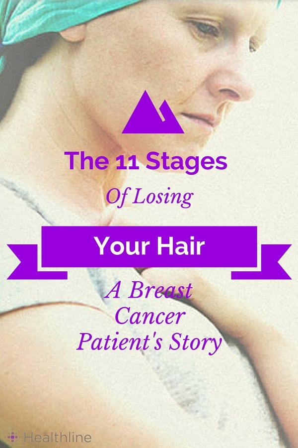 Hair loss is a common chemotherapy side effect. Read as breast cancer patient Heather Lagemann describes the process in her 11 stages of losing your hair.