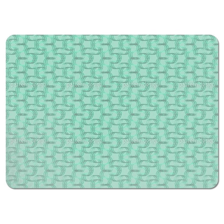 Uneekee New Wave Green Placemats (Set of 4) (New Wave Green Placemat) (Polyester)