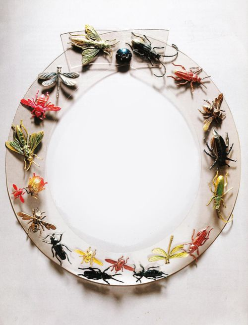 Insect necklace, Jean Schlumberger for Elsa Schiaparelli, 1939 | made of PMMA ( acrylic glass or Plexiglas)