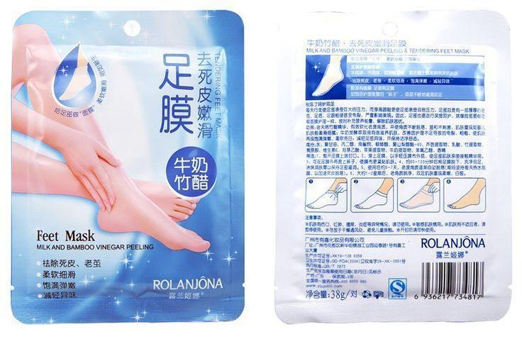 Esfoliante buccia mascherina del piede molle del bambino feet rimuovere macchia callo duro morto feet pelle mask