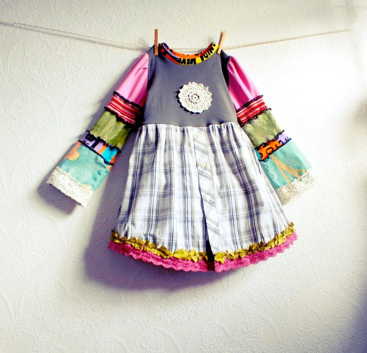 upcycled childrens clothing - Google Search
