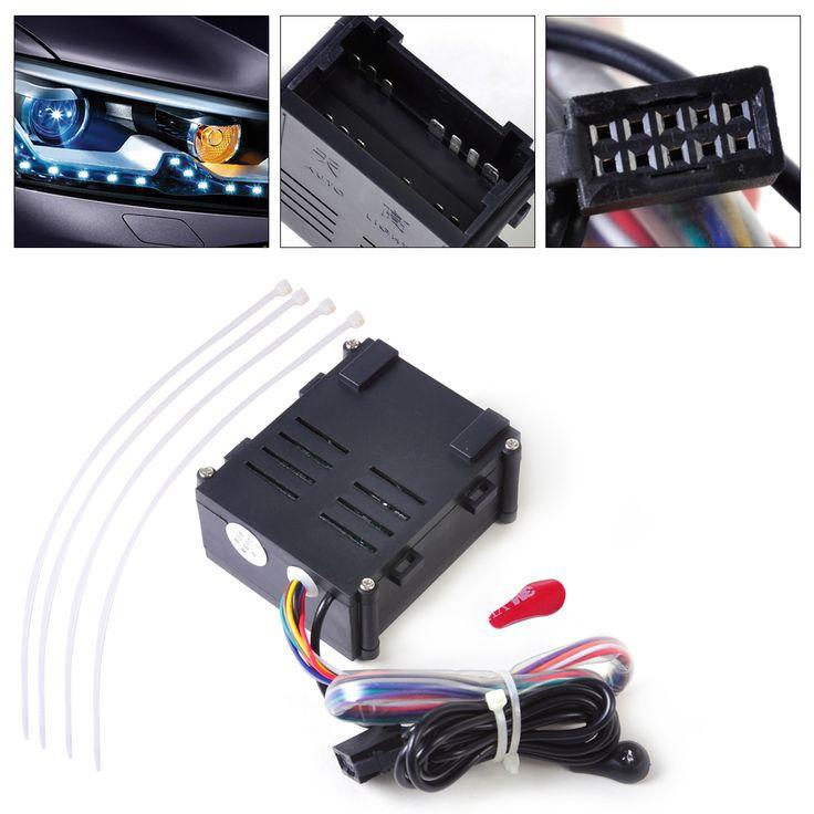 Car Auto Black Headlight Headlamp Head Light Lamp Sensor Module Fit for VW Golf Jetta 1998 1999 2000 2001 2002 2003 2004