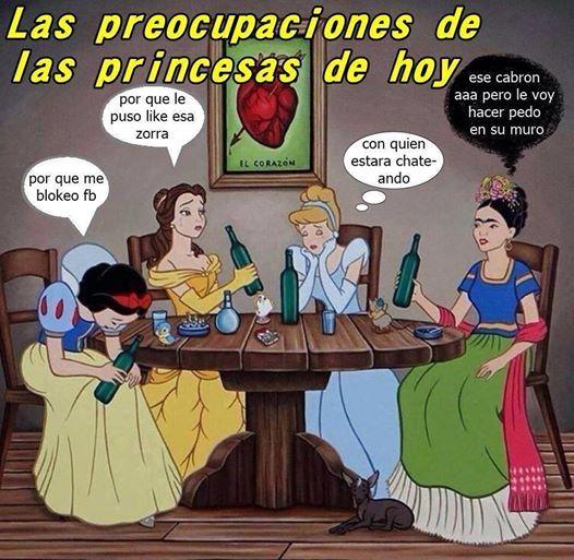 memes de princesas