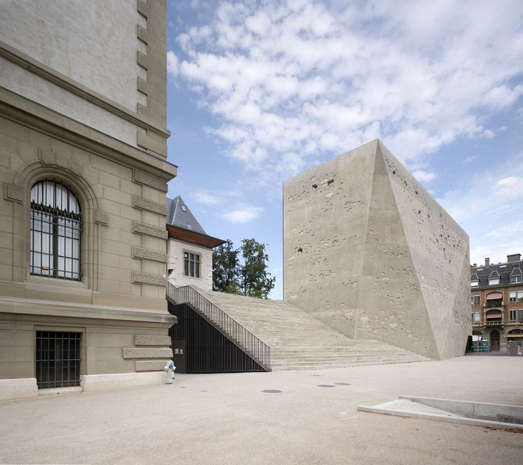 An extension to the Historical Museum Bern, that was built by André Lambert in 1894 in an historic style that invokes Swiss architecture of the 15th and 16th...