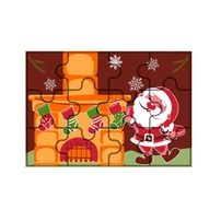 Blister Quebra Cabeça - Papai Noel