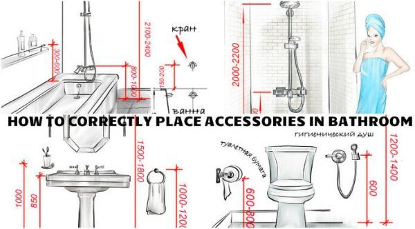 Correctly positioning accessories in your brand new bathroom - Engineering Feed