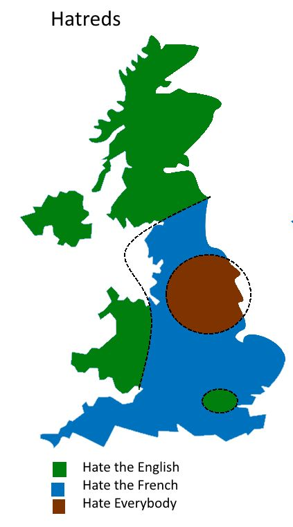 UK Divided By Hatreds