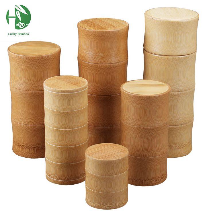 Caja de té de bambú cocina Cajas caja de Almacenamiento de bote de té tarro de té caddy sello botella hecha a mano caja de almacenamiento organizador caja de especias