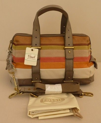"Fossil Medium/Large Satchel/Multiway Bag - ""Mason"" - BNWT - RRP £238 - NEW | eBay"