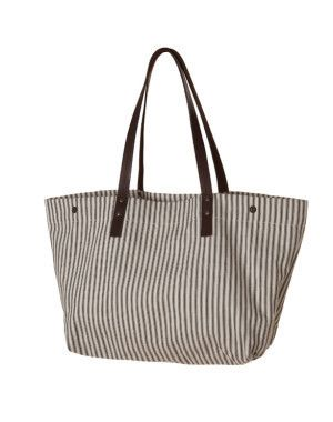 Market Tote / Brittany Black | Red Rolling Pin