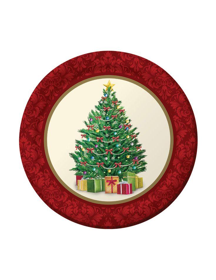 64 best decoraci n navidad images on pinterest christmas - Decoracion de platos ...