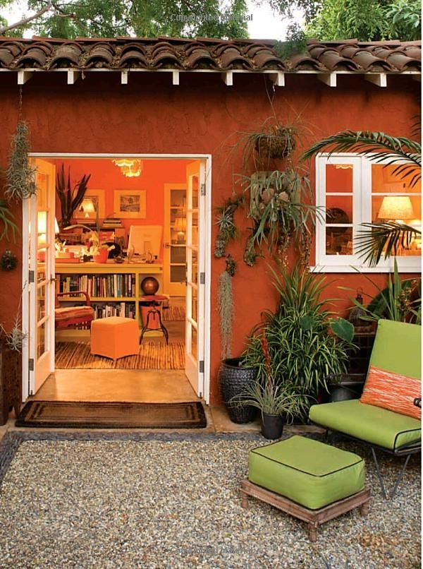 Wouldn't this be a nice addition in our yard - a beautiful casita for Nana & Papa!