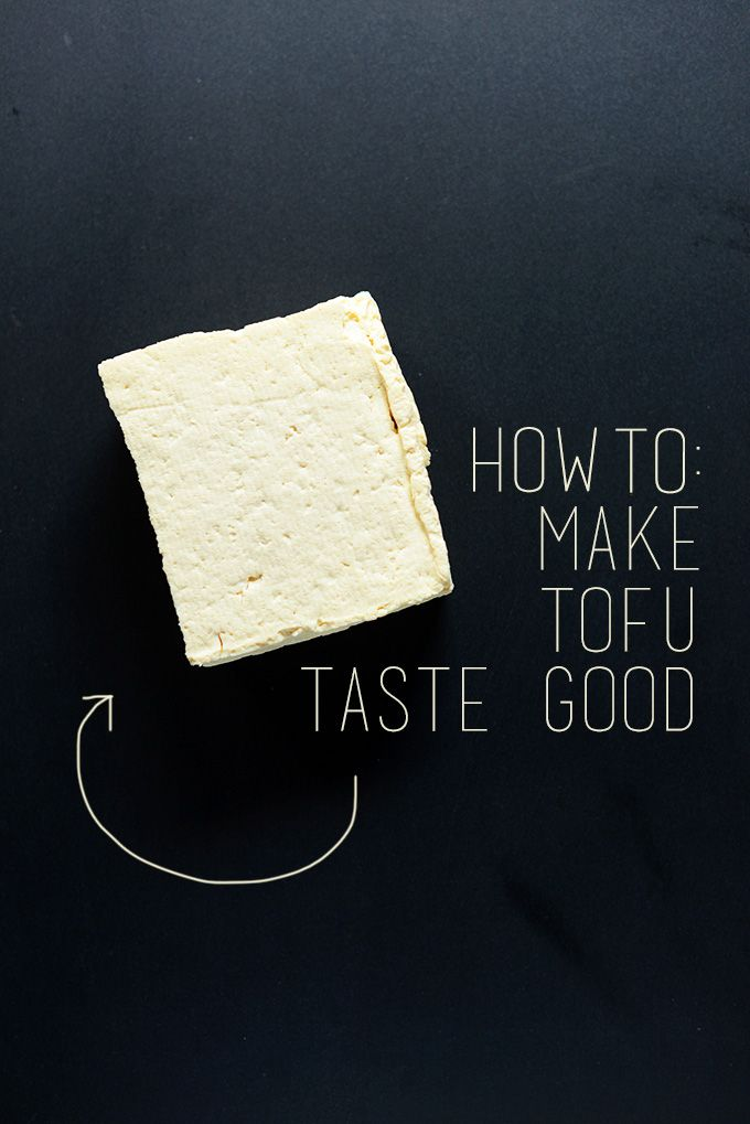 technique for make great tofu!