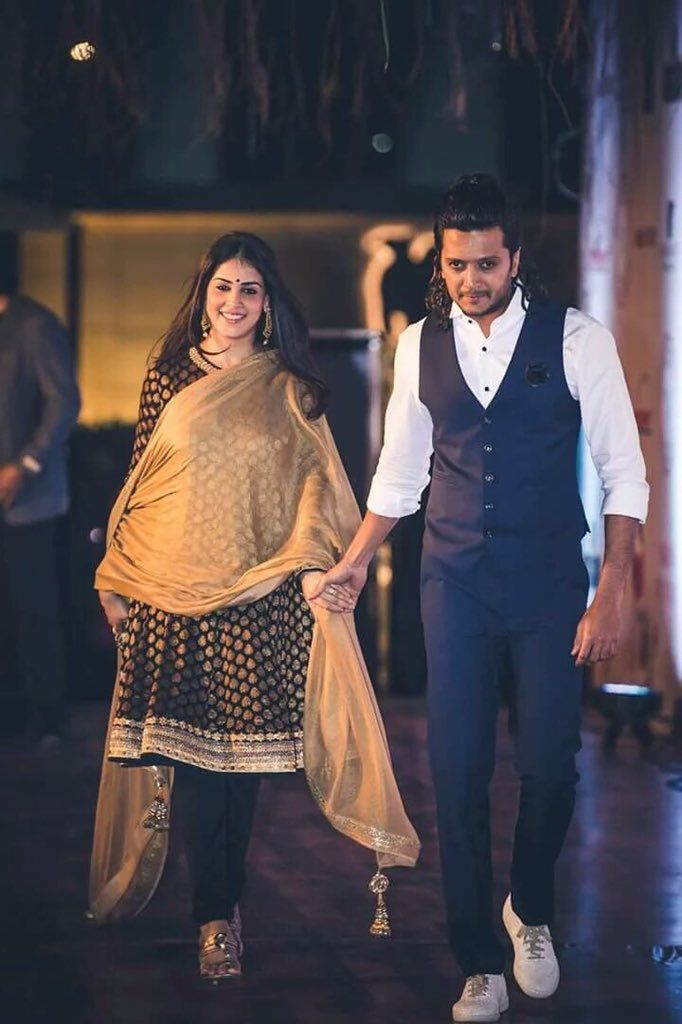"Riteish Deshmukh on Twitter: ""Holding hands with you was the best decision I ever made. @geneliad https://t.co/MkHZN66Md3"""