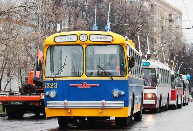 Троллейбусы ЗиУ-5