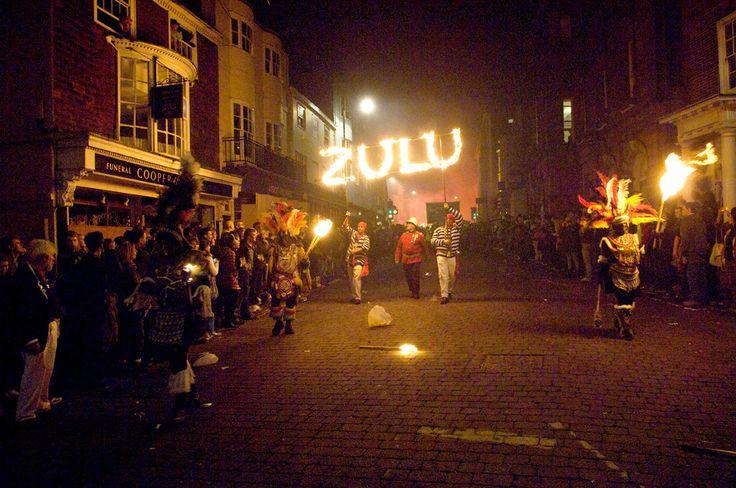 Lewes Bonfire Night 2010