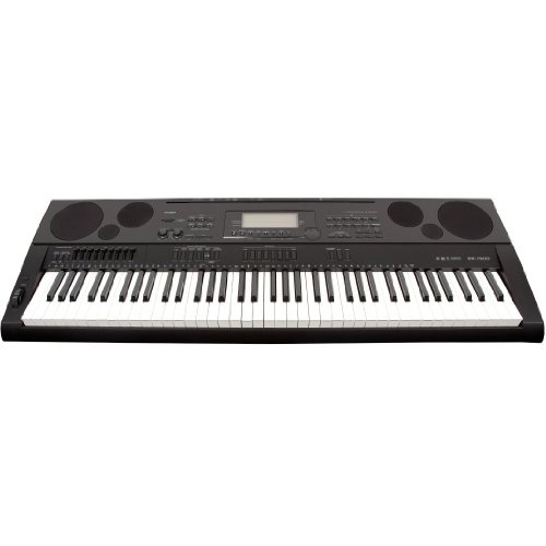 Casio WK7500 76 Key Touch Sensitive Workstation Keyboard