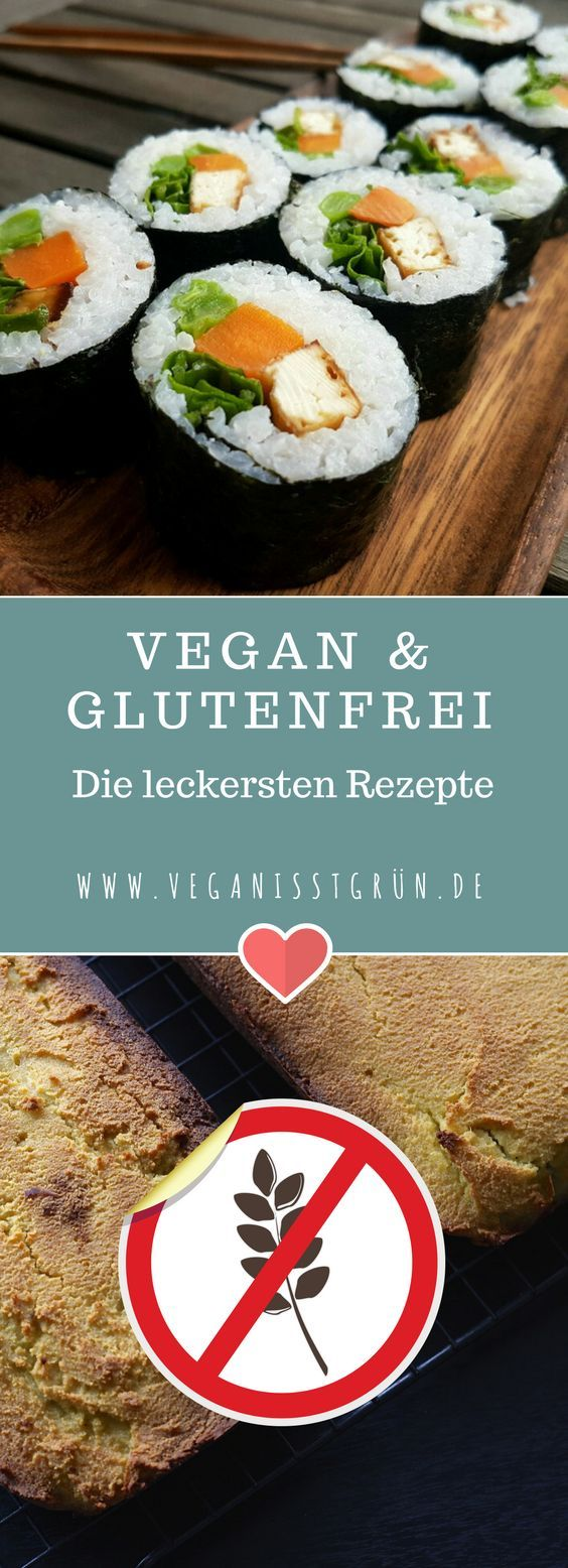 Du sucht nach glutenfreien und veganen Rezepten? Hier findest du eine große Auswahl. Viele Gerichte sind schnell & unkompliziert nachzukochen. #vegan #glutenfrei #glutenfreierezepte #rezepte