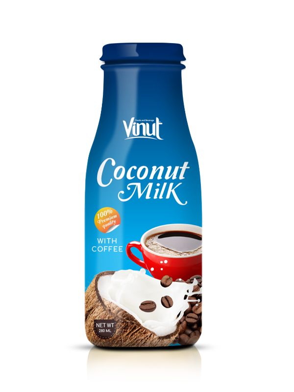 Wholesale_Glass_bottle_Premium_Quality_Coconut_milk_with_Coffee_flavour_280_ml