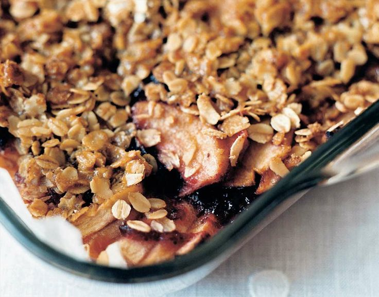 Natalie's apple cranberry dessert by Hayley Smorgon from Cooking from memory | Cooked