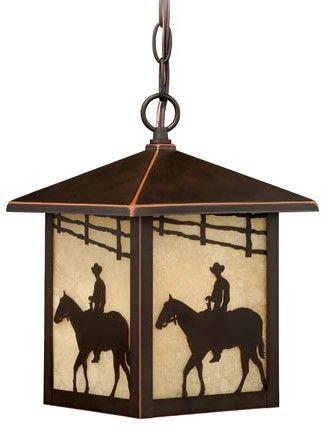 Trail 1 Light Outdoor Hanging Lantern