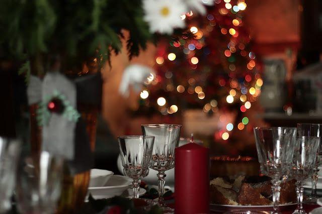 Christmas family table