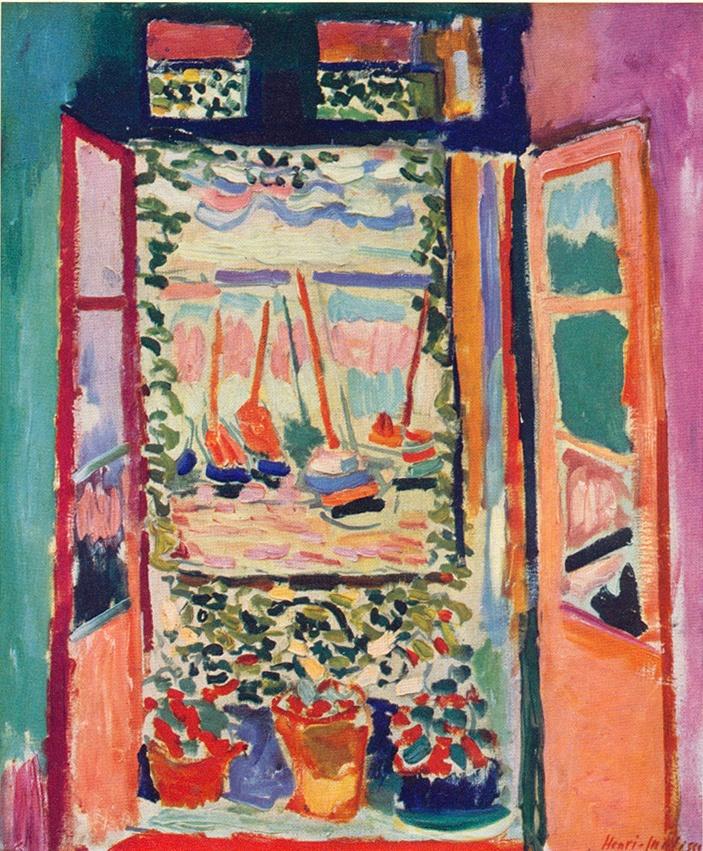 Les 49 meilleures images du tableau matisse sur pinterest for Matisse fenetre a tahiti