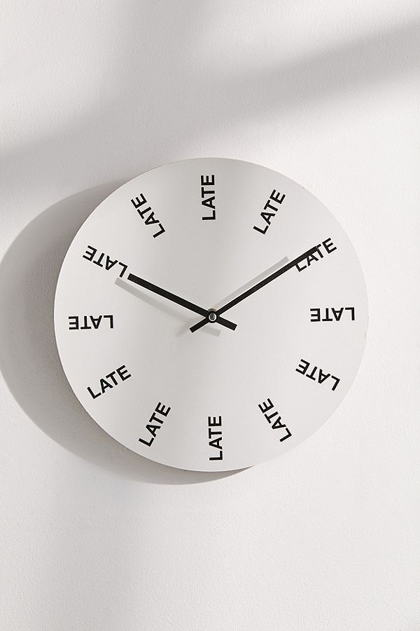 Late Late Late 12 Diy Clock Wall Wall Clock Design Wall Clock