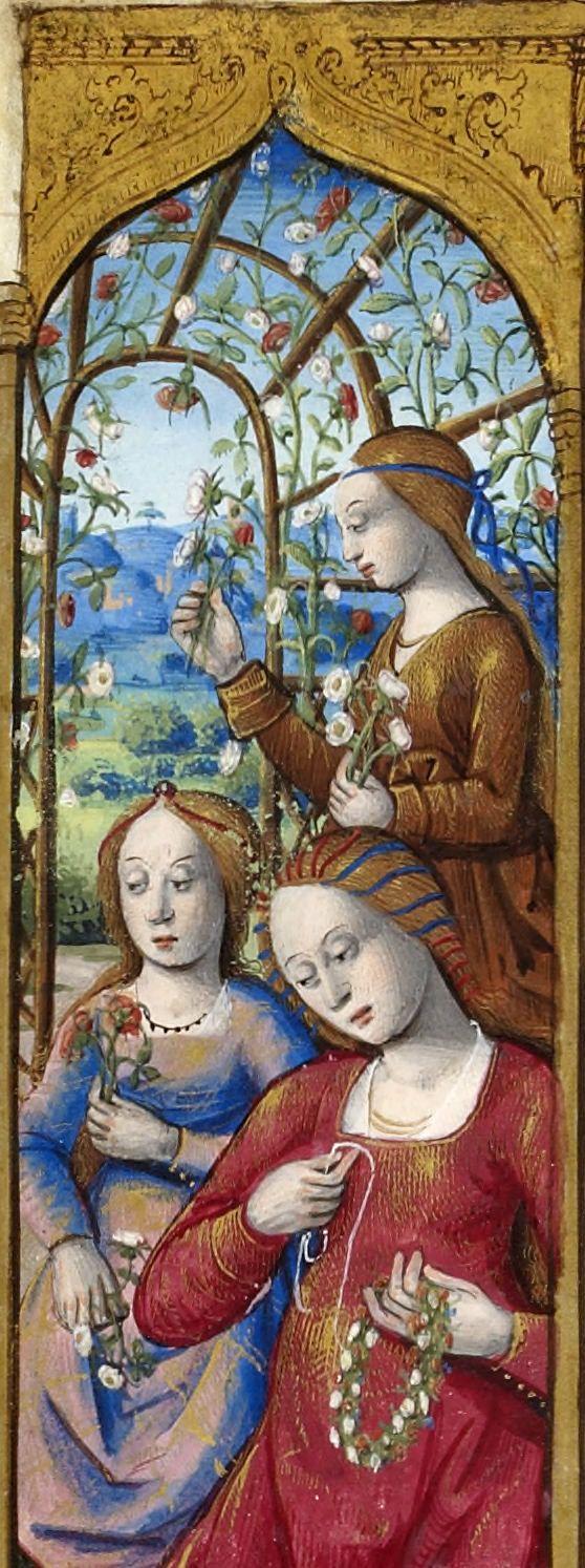 Petites Heures de la reine Anne de Bretagne. Source: gallica.bnf.fr Bibliothèque nationale de France, Département des manuscrits, NAL 3027, ...