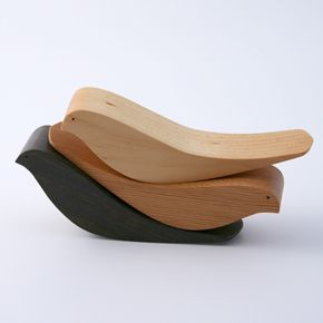 rocking wooden birds :  wooden toys midsummer shop plan toys