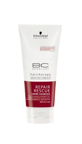 Schwarzkopf Professional BC Bonacure Repair Rescue Crme Shampoo 200ml ** Be sure to check out this helpful article. #DailyShampoo