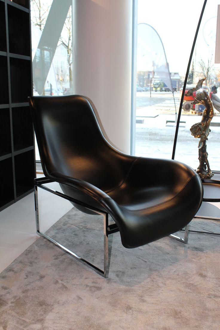 Smuk lænestol til stuen fra B&B Italia