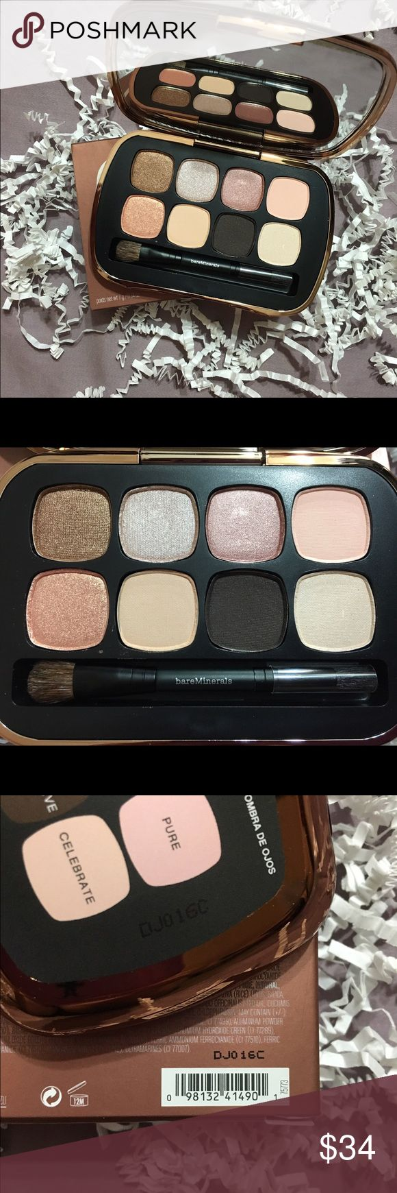 Bare Minerals Sexy Neutrals 8.0 BareMinerals Sexy Neutrals 8.0. Brand new in box (this means unused and unswatched). Gorgeous colors! Please ask any questions you may have and Ill be happy to answer to the best of my ability! bareMinerals Makeup Eyeshadow