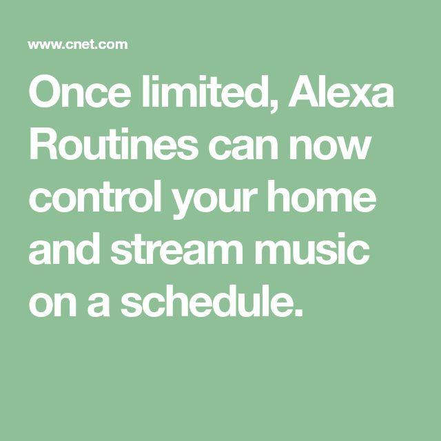 Alexa Routinen Musik