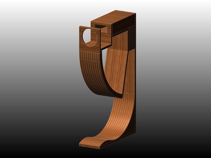 DIY Fostex Backloaded Horn Speaker