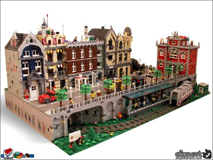 An amazing modular creation...to have the imagination to do this, fabulous!
