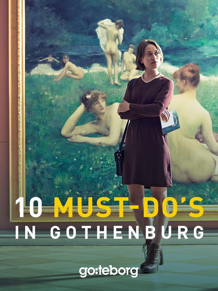 Top 10 must do's in Gothenburg, Sweden | goteborg.com | Photo: Kim Svensson