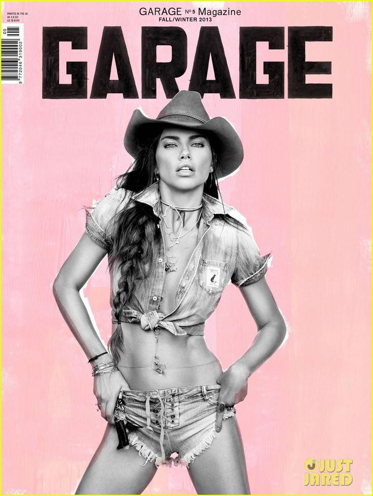 Adriana Lima Covers 'Garage' Fall/Winter 2013