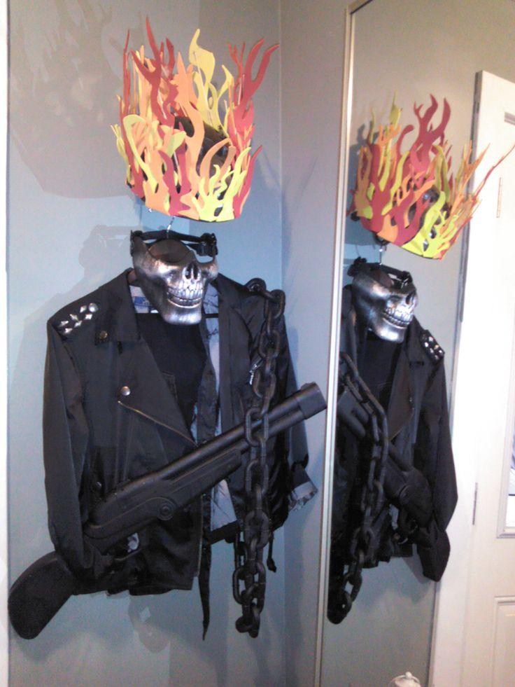 28 best motorista fantasma images on pinterest ghost rider ghost rider halloween costume 2014 solutioingenieria Gallery