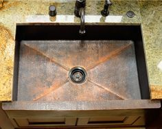 how to care for a copper kitchen sink best 25 copper sinks ideas on 9699