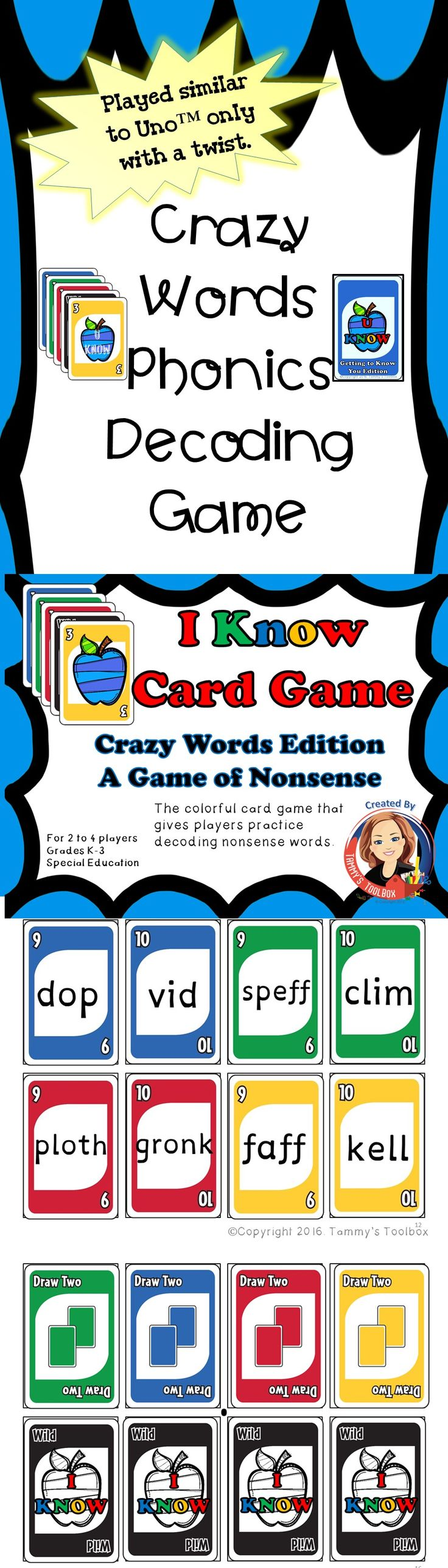 Helps kids practice decoding skills with this fun game.  Great for Orton-Gillingham and Wilson Reading.