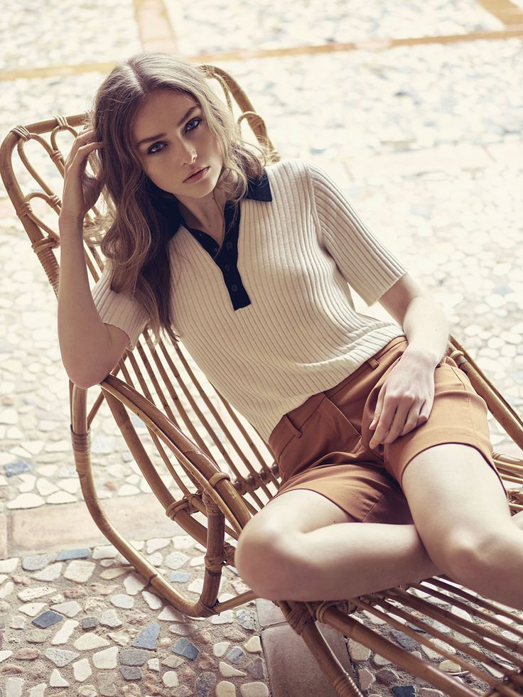 Pieszak Summer Collection 2016  Zenia Polo Knit, Sierra Shorts