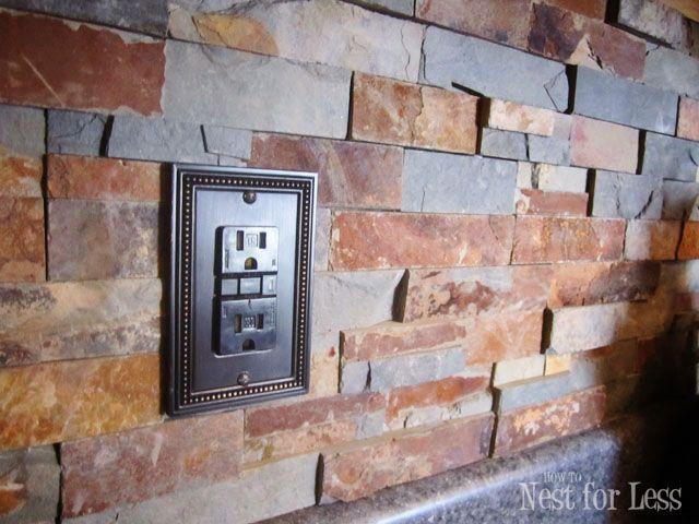 Stone Kitchen Backsplash Lowes Kitchen Backsplash And