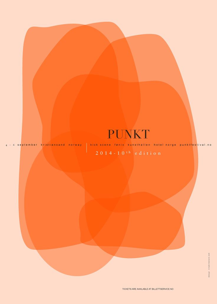 ninabirkeland.com  Design and artwork for the annual Punkt festival in Kristiansand, Norway