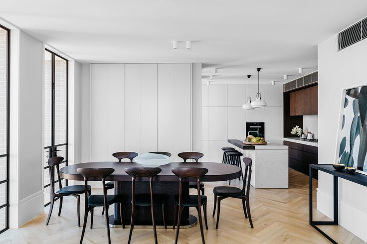 Developed by Investec and designed by SJB, 10 Wylde Street is a grand residential address in Sydney's Potts Point, containing 22 apartments over 7 levels.