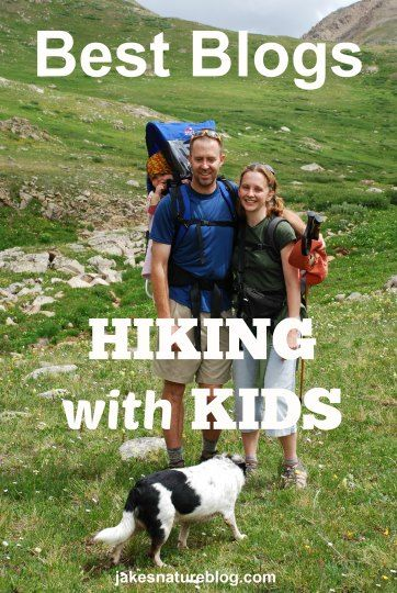 This is a nice list of blogs that have good info about hiking with kids.