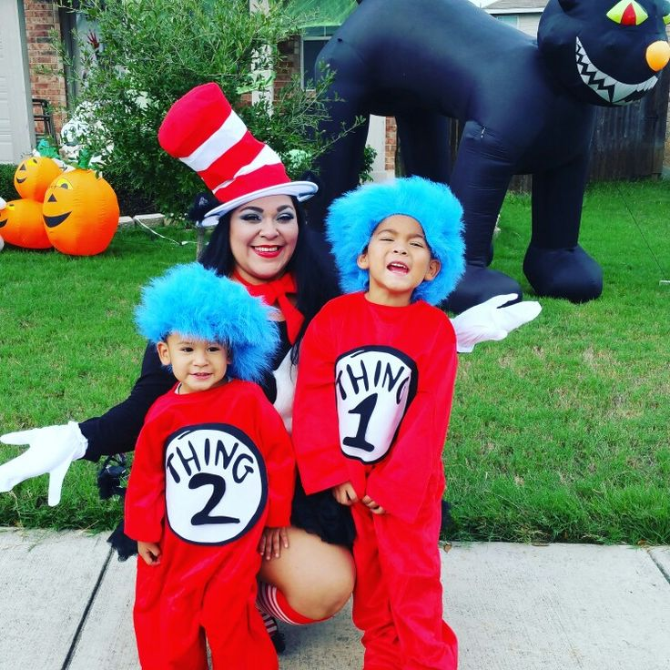Halloween mother & son costume
